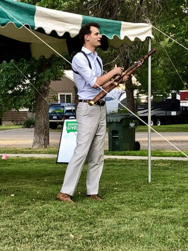 Nate Helgesen explains his Baroque bassoon